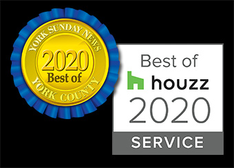 Voted Best of houzz 2020 and Best of York 2020!