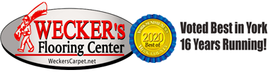 Wecker's Flooring Center is your premier flooring source in York & proud to be voted Best in York 16 Years Running!