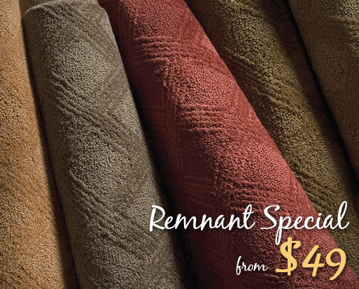 Remnants starting at $49 at Wecker's Flooring Center in York!