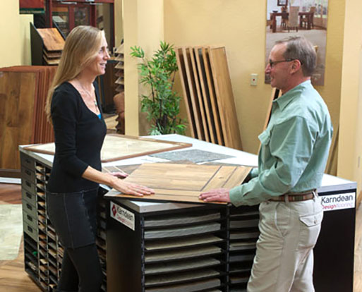 Visit our Karndean Design Center at Wecker's Flooring Center in York.