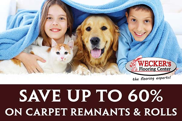 Flooring for the way you live - Save up to 60% off carpet! - Many Colors & Styles Available - Includes Pad & Installation Starting at $1.99 sq.ft.