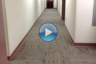 Commercial flooring by Abbey Carpet & Floor at Dentsply.