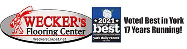 Wecker's Flooring Center. Voted best in York 17 years running