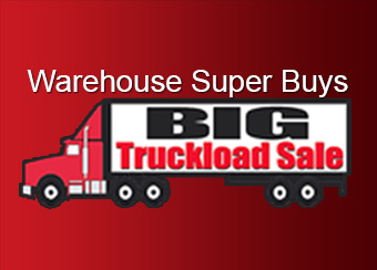 Save up to 60% in with our warehouse super buys!