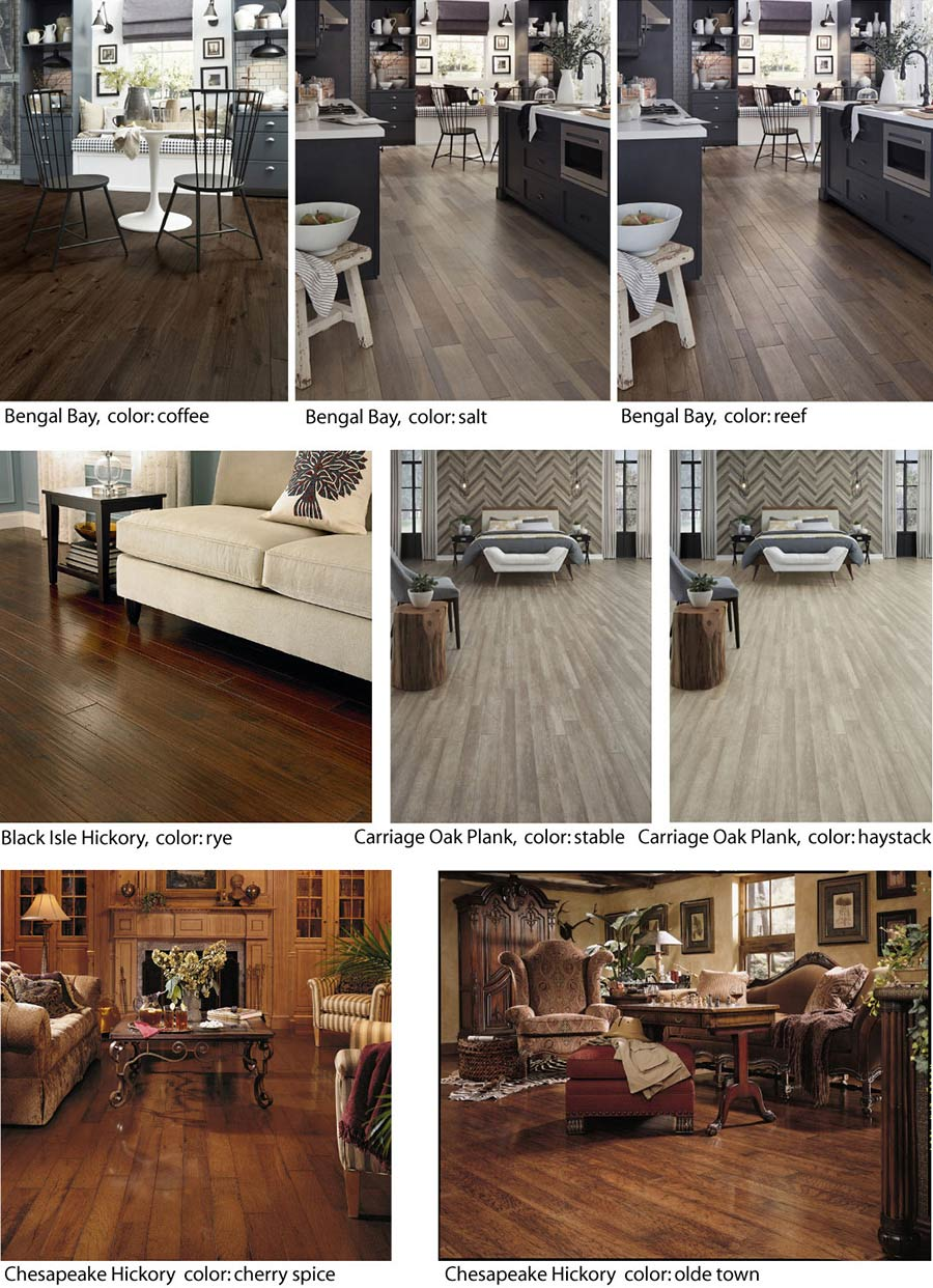Save up to 60% on hardwood flooring at Wecker's Flooring Center in York.