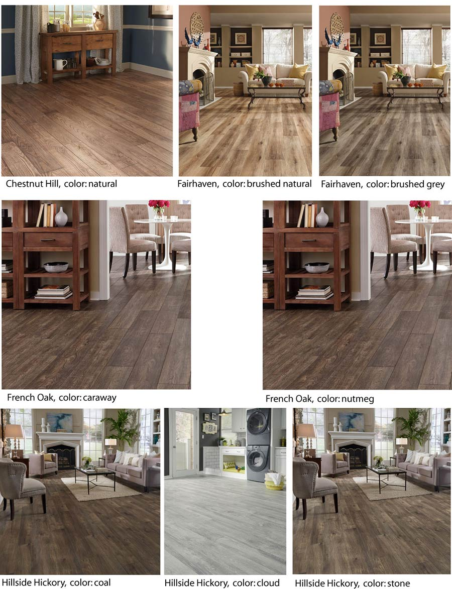 Save up to 60% on laminate flooring at Wecker's Flooring Center in York.