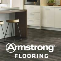 Featuring vinyl flooring from Armstrong. Visit our showroom where you're sure to find flooring you love at a price you can afford!